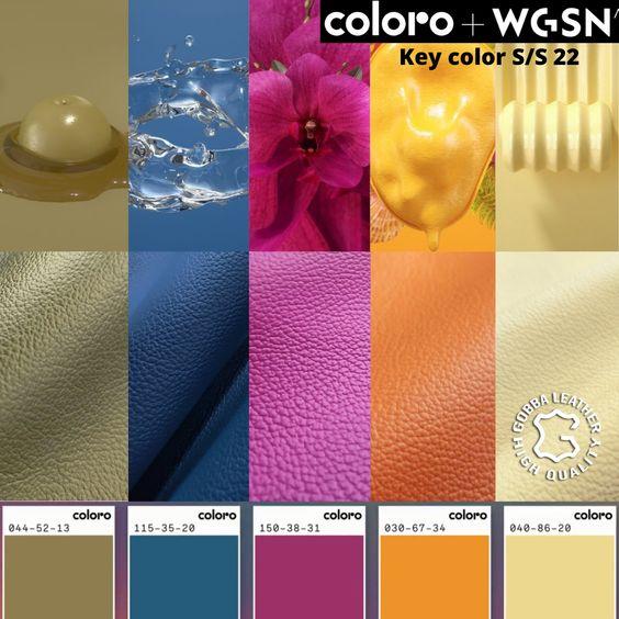 Tendência verão 2022: Colors